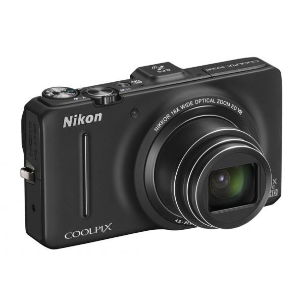 NIKON S9300 black COOLPIX S9300