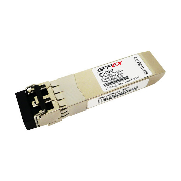 DELL 10GbE SR SFP+ Transceiver 10GB 1GB C 407-10357