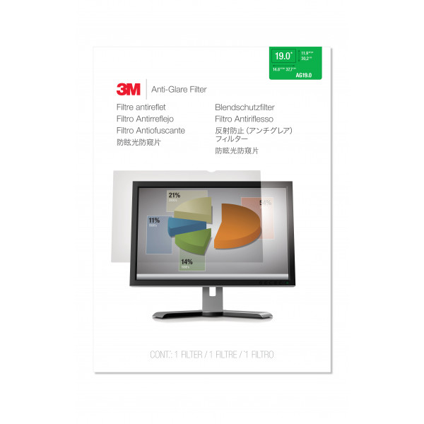 3M AG19.0 Desktop Screen Anti Glare AG190