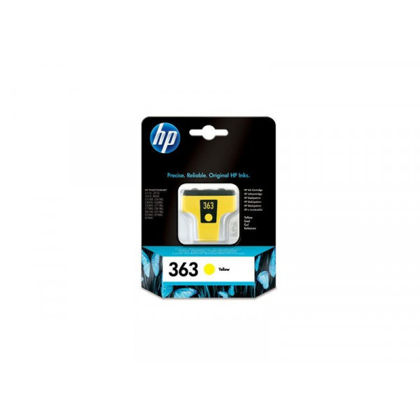 HP 363 inkt Cartrdige geel 6ml C8773EE#301
