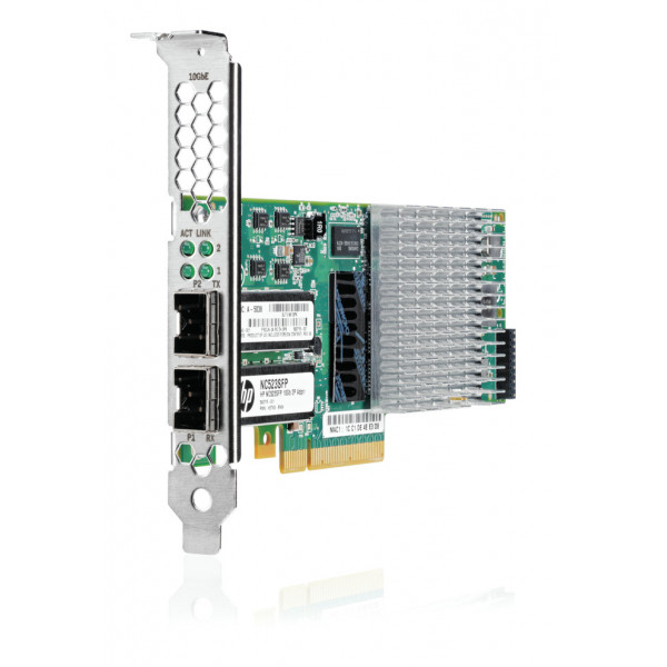HP hpe NC523SFP 10GB 2-port Server Adapter 593717-B21