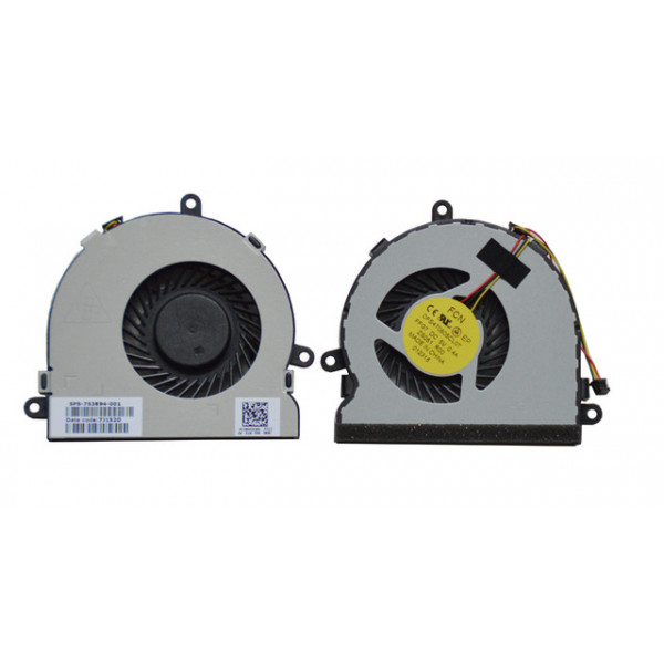 HP laptop cooling fan for 15-N series DFS470805CL0T