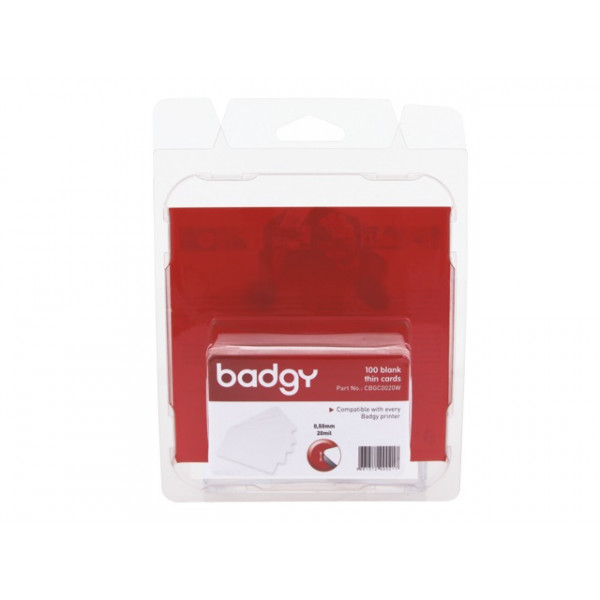 EVOLIS Badgy 100 blank thick cards VBDG205EU