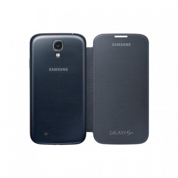 SAMSUNG Galaxy S4 flip cover nova black EF-FI950BBEGWW