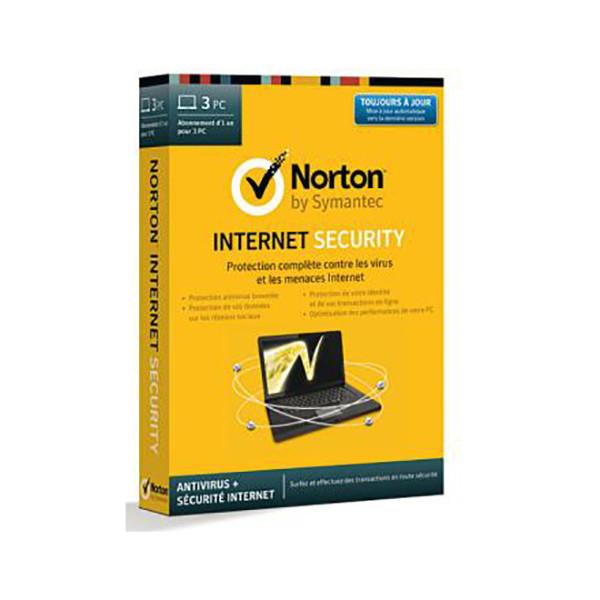 SYMANTEC Norton Internet Security 2014/FR Win 3US 21298471
