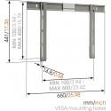 THIN 305/wall bracket 32-55' 8393052