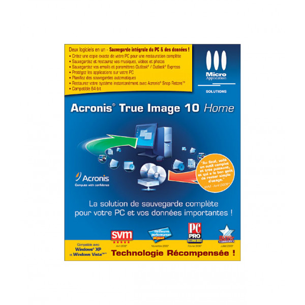 Acronis True Image Home 2010/FR TIHPB1FRS1