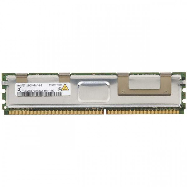 Qimonda 1GB PC2-5300 DDR2-667MHZ ECC Fully Buffered CL5 240-PIN DIMM HYS72T128420HFA-3S-B