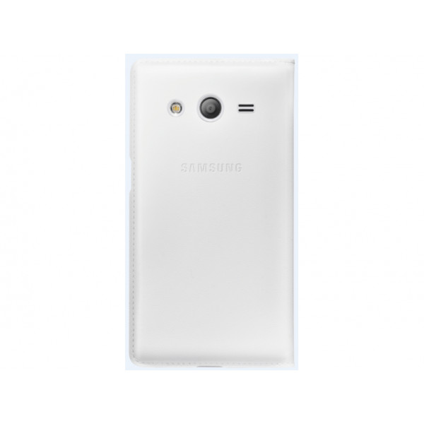 SAMSUNG Galaxy Core 2 S View Cover White EF-CG355BWEGWW