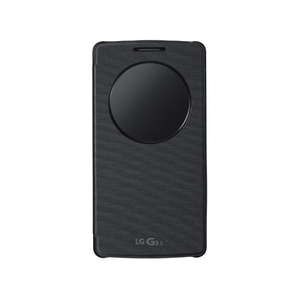 LG G3S Quickcircle Case Black CCF-490G.AGEUTB