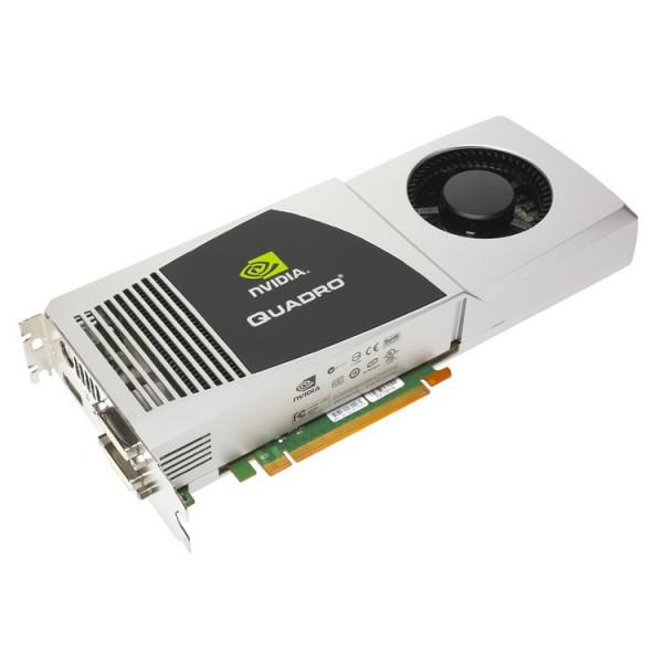 PNY Nvidia Quadro FX5800 4GB PCIe 2XDVI 1XDP FZ559UT