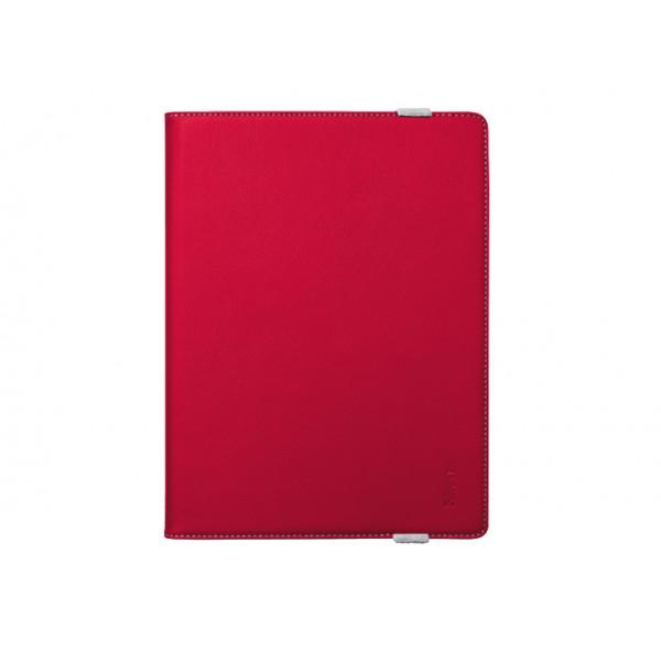 TRUST Verso Universal Folio Stand 10 Inch Red 19902