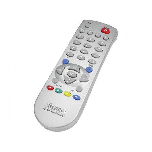 vivanco Universal 2IN1 TV/DVB remote control 19696