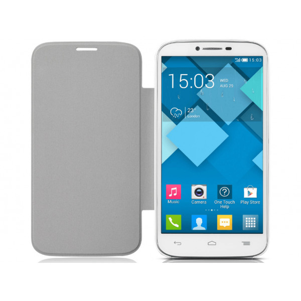 ALCATEL pop C9 Flipcover White F-GCG18J0BS2C1-A1