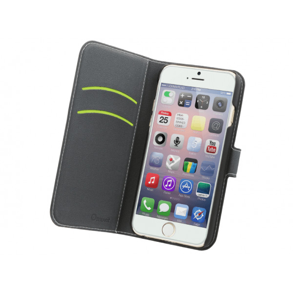 MUVIT Wallet for iPhone 6 Plus Black MUSNS0073