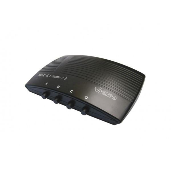 vivanco 25350 Manual 4 way HD Audio Visual Switching Unit