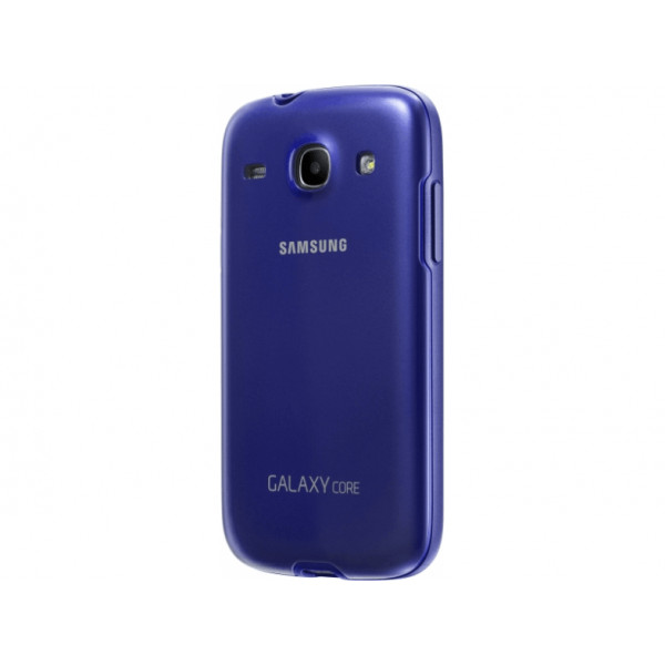 SAMSUNG Galaxy Core Protective Cover Blue EF-PI826BLEGWW