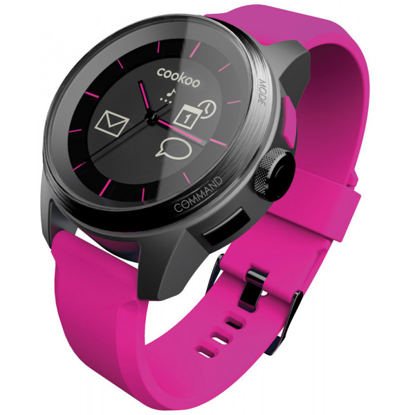 COOKOO The connected watch Pink CKW-KP002-001