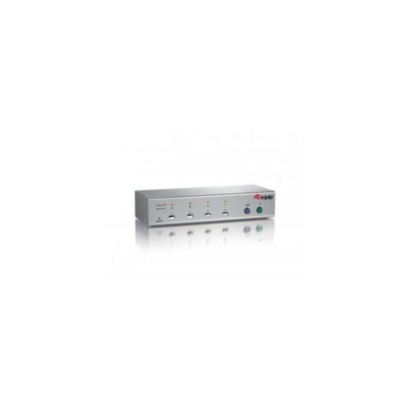 EQUIP KVM 1-4 PS/2 USB HD cables 2048x1536 71124