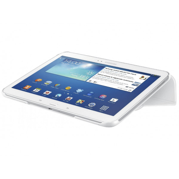 SAMSUNG TAB3 10.1 book cover white EF-BP520BWEGWW