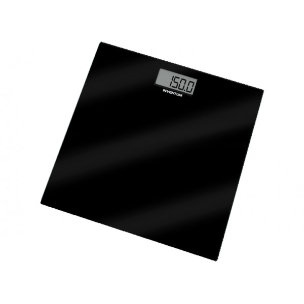 INVENTUM Bathroom scale Black PW406GB