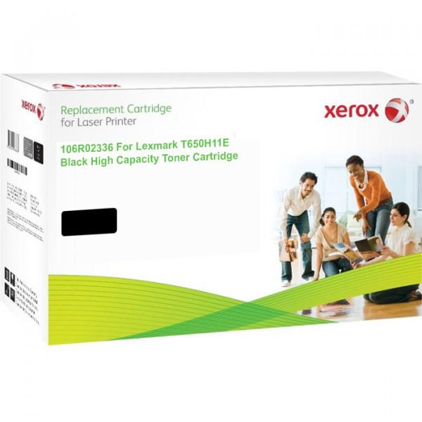 XEROX toner cartridge for Lexmark T650H21E T650H11E 106R02336