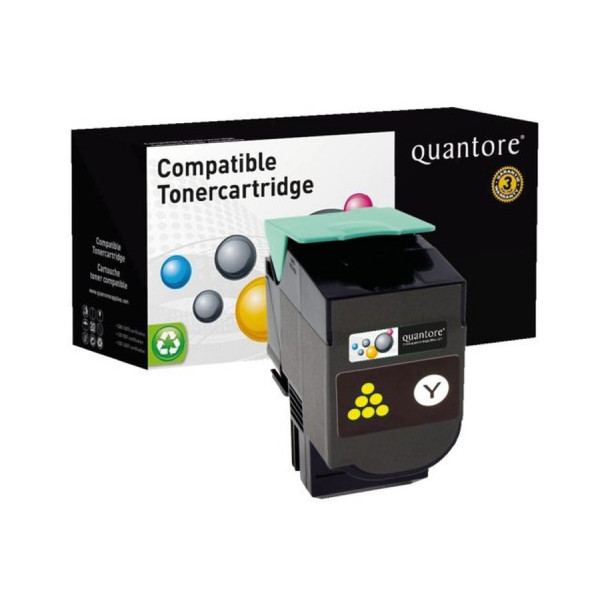 QUANTORE Toner cartridge for Lexmark 80C0H40 3K 351504-034091