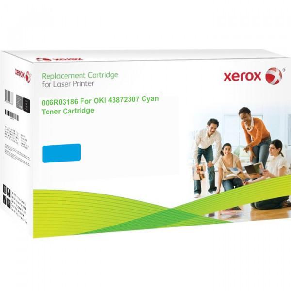 XEROX toner cartridge Oki 43872307 006R03186