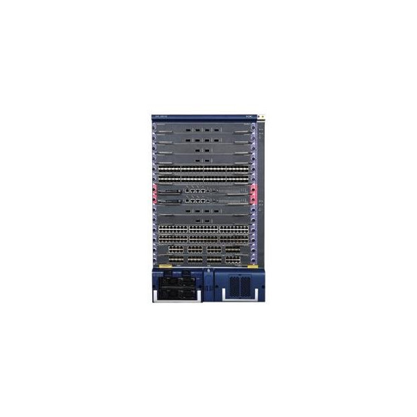 HP 9512 switch chassis JC125-61201