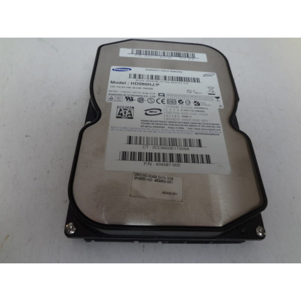 SAMSUNG SpinPoint P80SD 80GB for HP 404587-002
