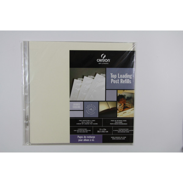 CANSON rech album 30.5X30.5 ivoires 777491