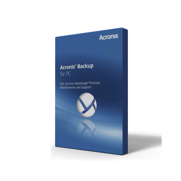 Acronis Softeare Backup unit F pc+aap/fr PCWNBPFRS