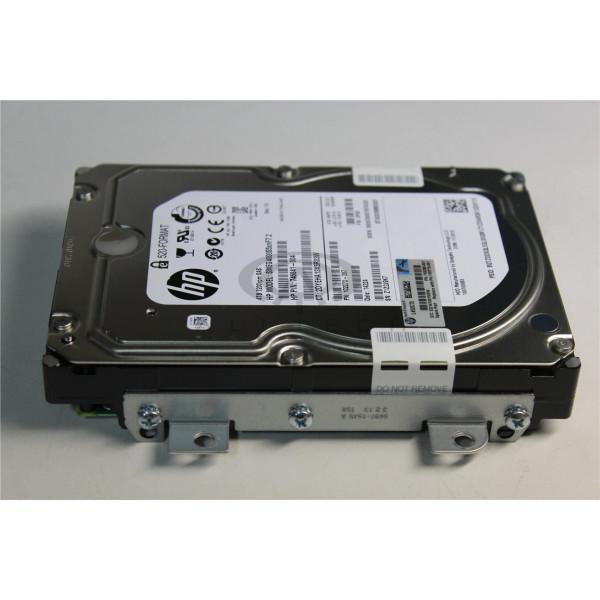 "HP 3.5"" 4TB 7.2K SAS DP 6G Hard Drive with Tray 750778-001"