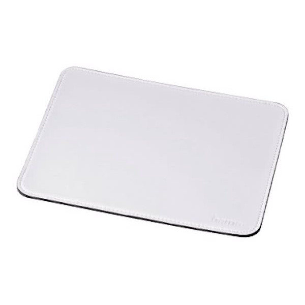 HAMA Mac Mouse Pad Leather White B0600119