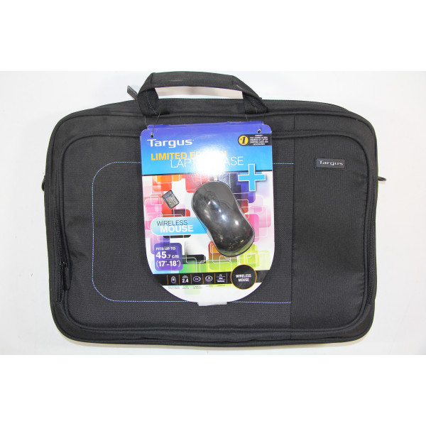 """TARGUS Wireless Mouse and 18"""" notebook case BEU3164-01P"""