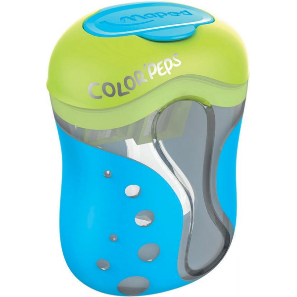 Maped Color'peps 2-HOLE Pencil Sharpener-Multiple colours