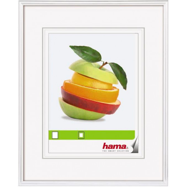 HAMA Sevilla-photo frame picture size 9X13CM-WHITE 00066246
