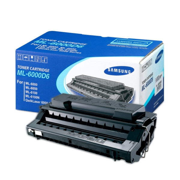 SAMSUNG Standard Yield (6000 pages) Black Toner Cartridge ML-6000D6/SEE