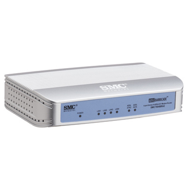 SITECOM SMC draadloze modem router ADSL2/2 SMC7901BRA2