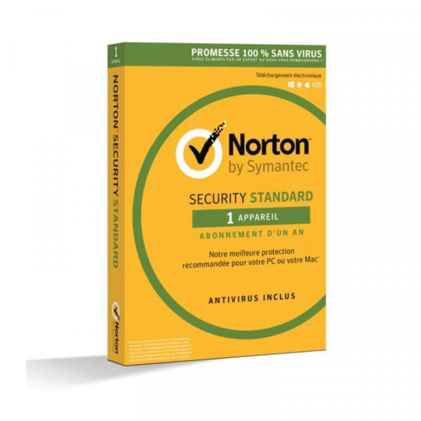 SYMANTEC Norton Security Standard 3.0 FR 1PC/1 year 21355371