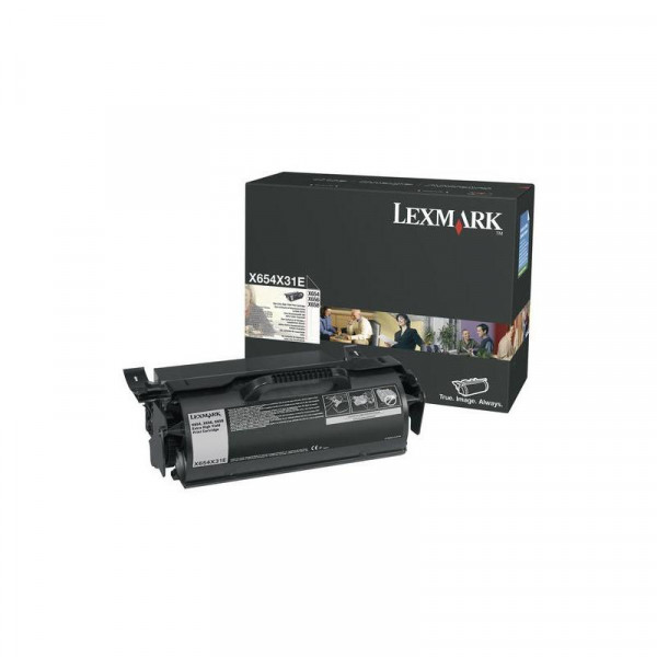 LEXMARK 36K X654 Extra High Yield Print Cartridge X654X31E