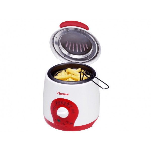 BESTRON Mini fryer (1 L 800 W with 4 forks ADF900