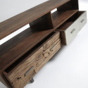 Laforma Loft TV meubel Mango hout 2 lades loftmango