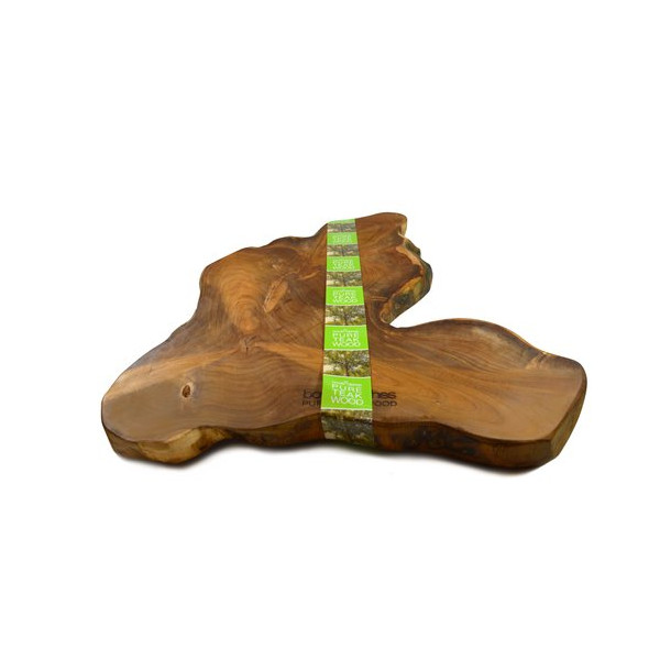 Bowls and Dishes Pure Wood Tapasplank Teak 45-50CM TW1550