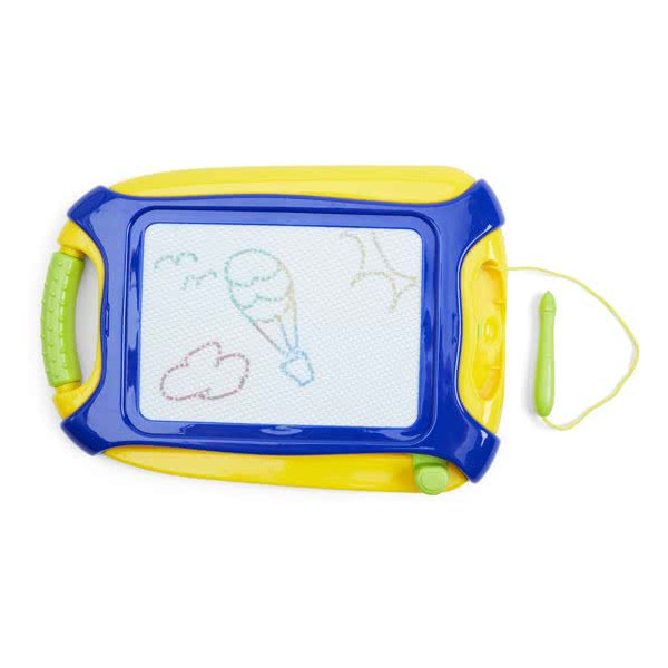JOHNTOY Kids Art Magnetic Colors Drawing board 28X 20 cm 28138