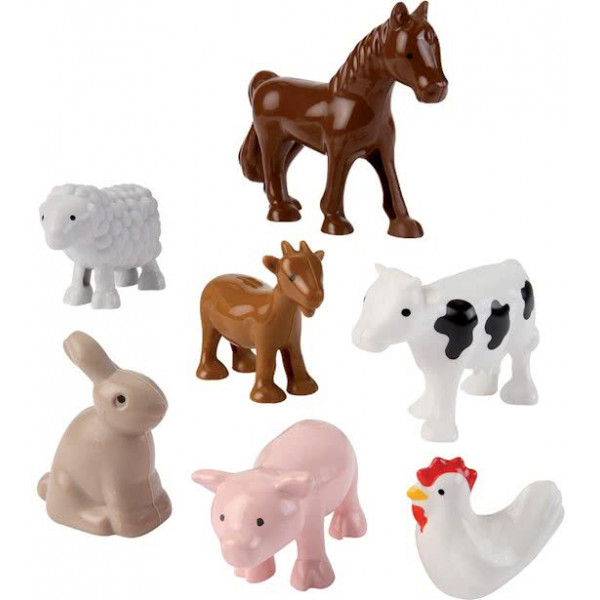 Abrick écoiffier Farm animals 7-DELIG
