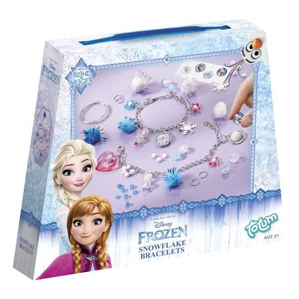 Totum Disney Frozen Snowflake Bracelets Making charm bracelets 680005