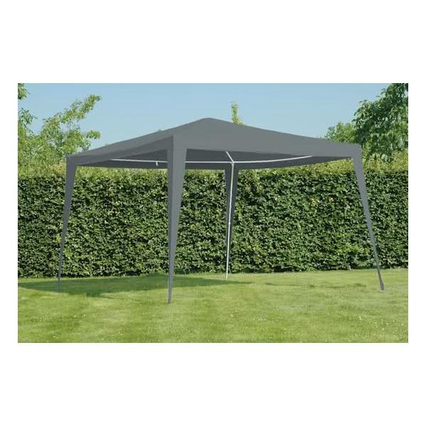 Lesli living LesliLiving Party Tent Pavilion gray 3X3M 1096383