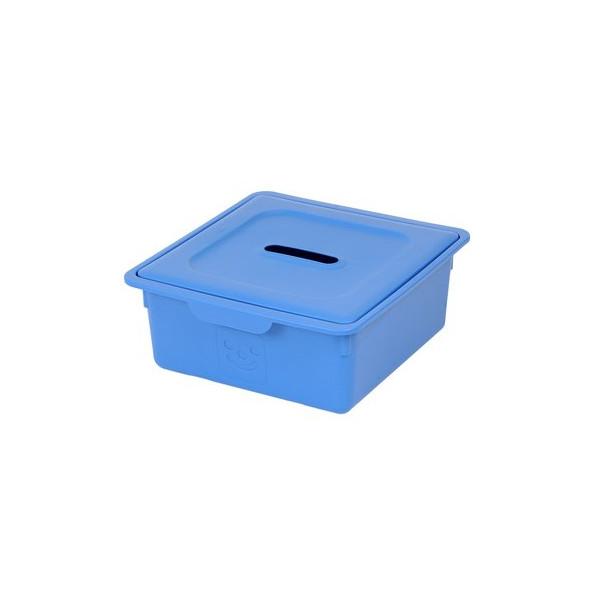 IRIS Smiley Kids Drawer Box Storage box with lid 10L Plastic
