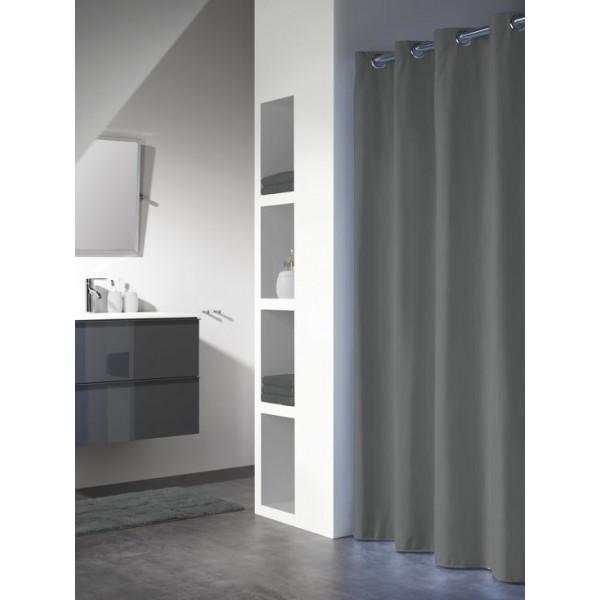 Sealskin Coloris Shower Curtain 180x200 cm Gray 23221114
